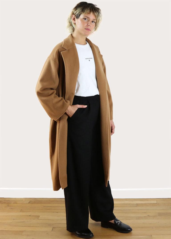 manteau-camel-tremblepierre-laine